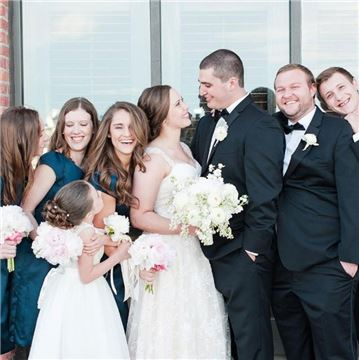 Henderson's Wharf Bridal Party