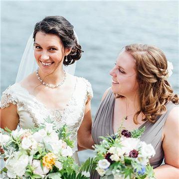 Henderson's Wharf Bride and Bridesmaids