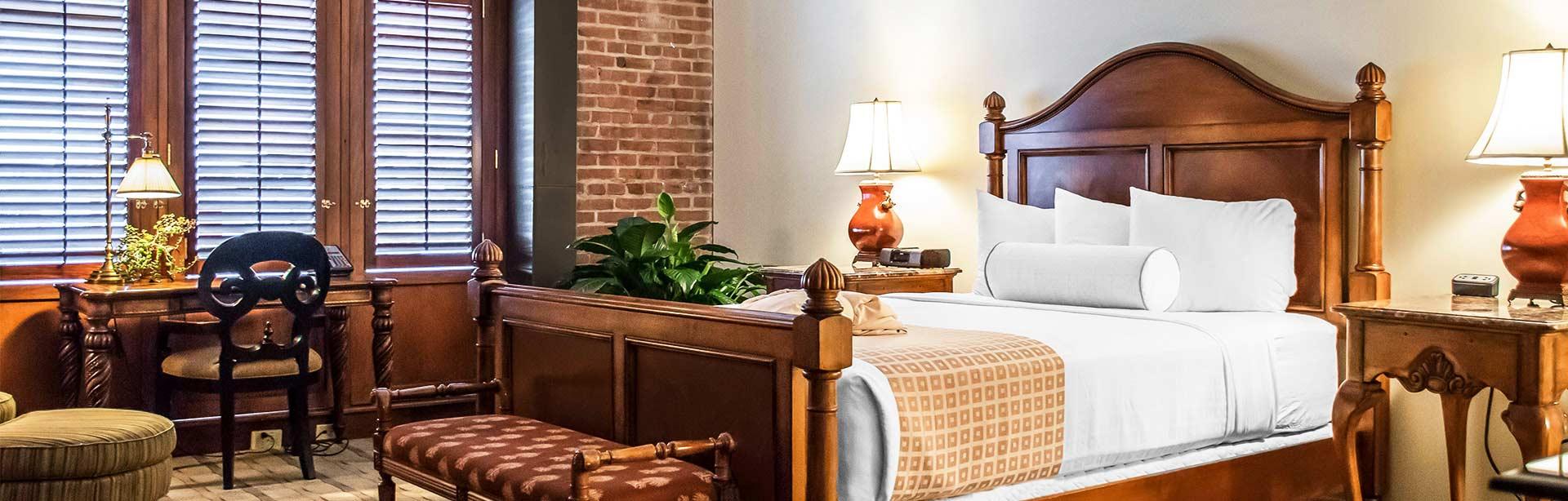 King Bed Marina View Room at Inn at Henderson's Wharf Baltimore, Maryland