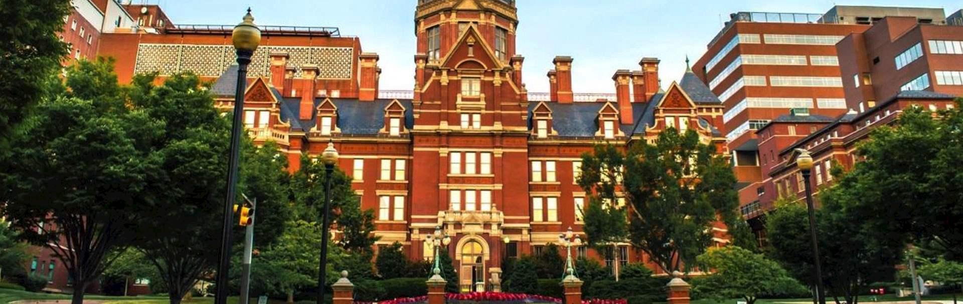 Johns Hopkins Hospital Rates at Baltimore, Maryland