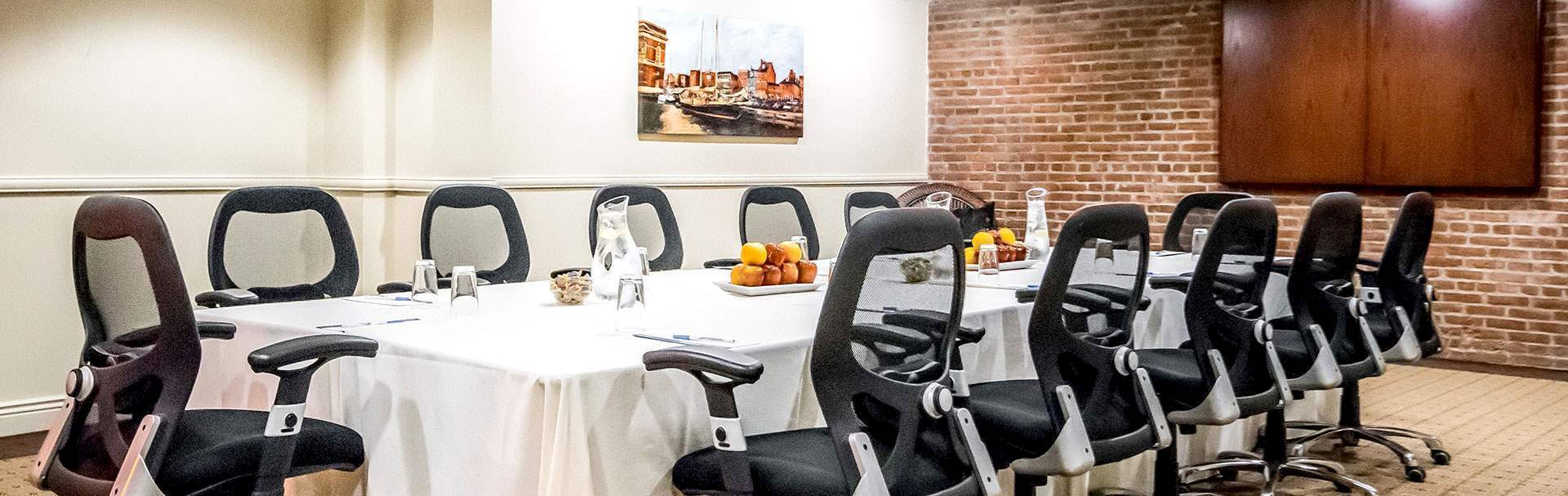 Meeting & Events Spaces at Inn at Henderson's Wharf Baltimore, Maryland