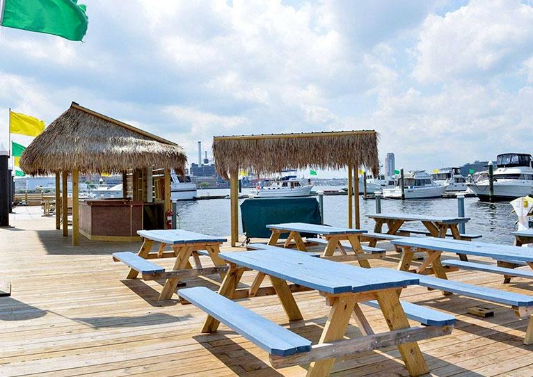 Tikki Hut at Inn at Henderson's Wharf Baltimore, Maryland