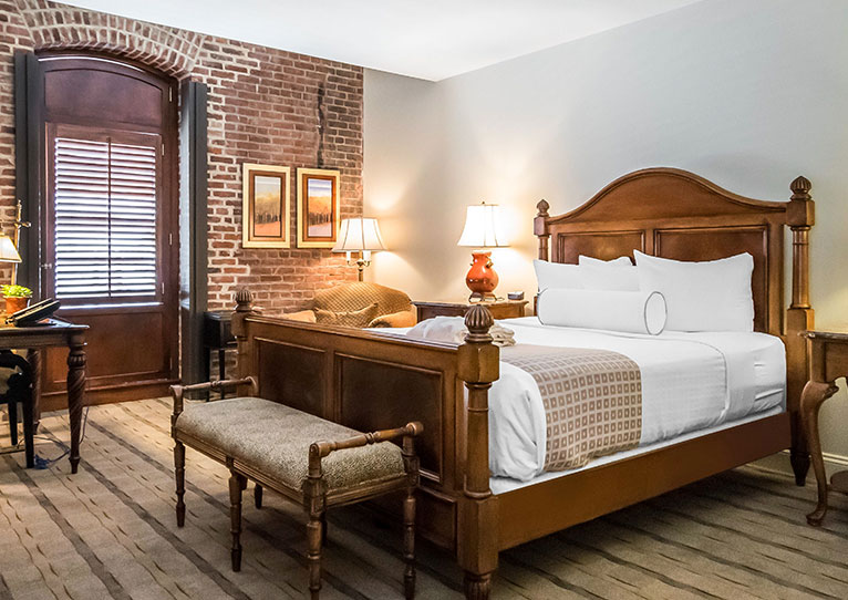 Queen Bed Accessible Harbor View Room at Inn at Henderson's Wharf Baltimore, Maryland