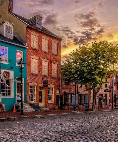 Baltimore Fells Point Maryland