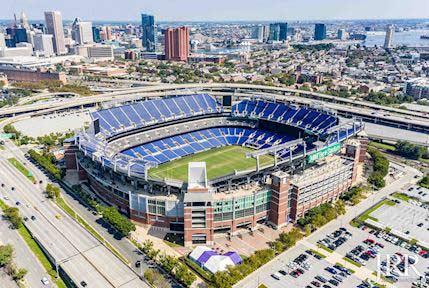 Baltimore M&T Bank Stadium Maryland
