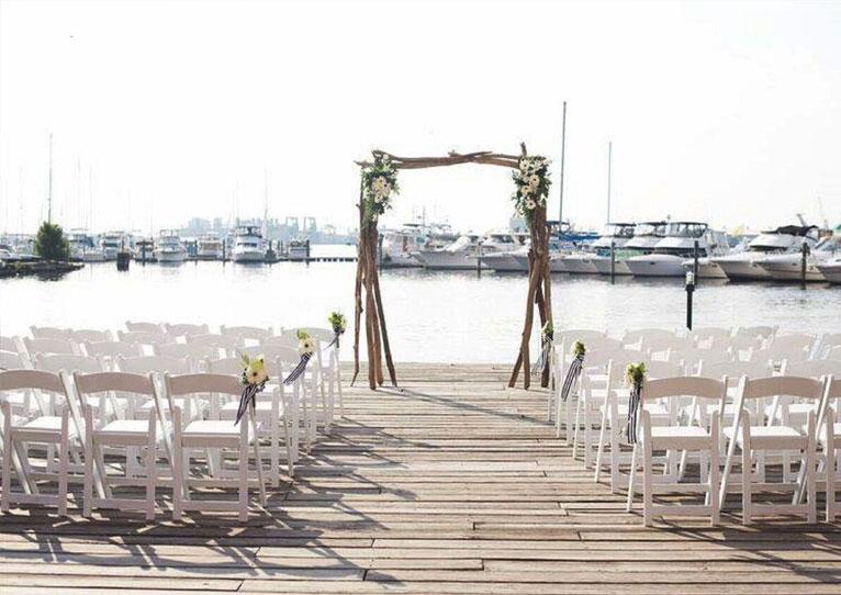 Waterfront Wedding Venues at Baltimore, Maryland