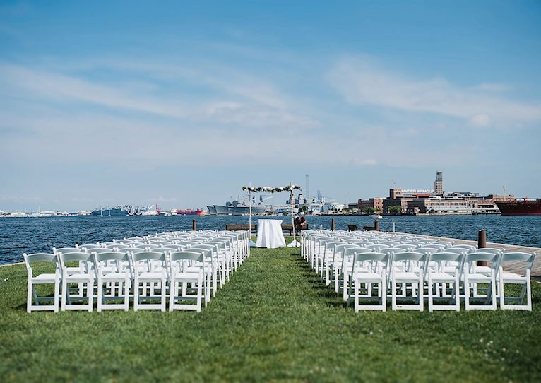 Bond Street Pier at Baltimore, Maryland