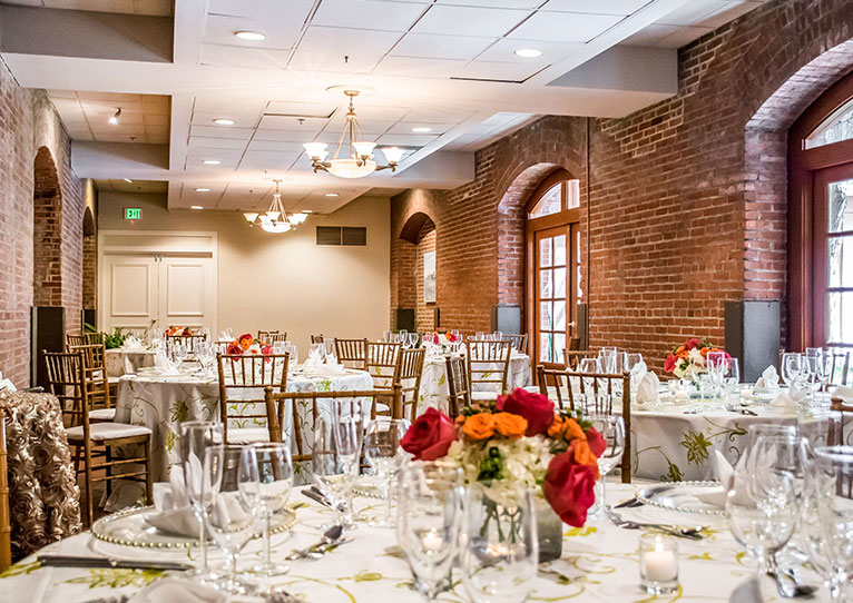 Gallery Wedding Reception at Inn at Henderson's Wharf Baltimore, Maryland